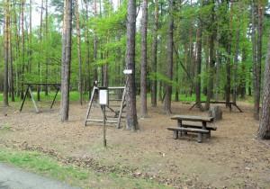 Hřiště v Klánovickém lese